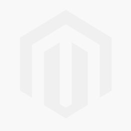 Empire White Glass & Mirrored 3 Drawer Display Bedside Cabinet